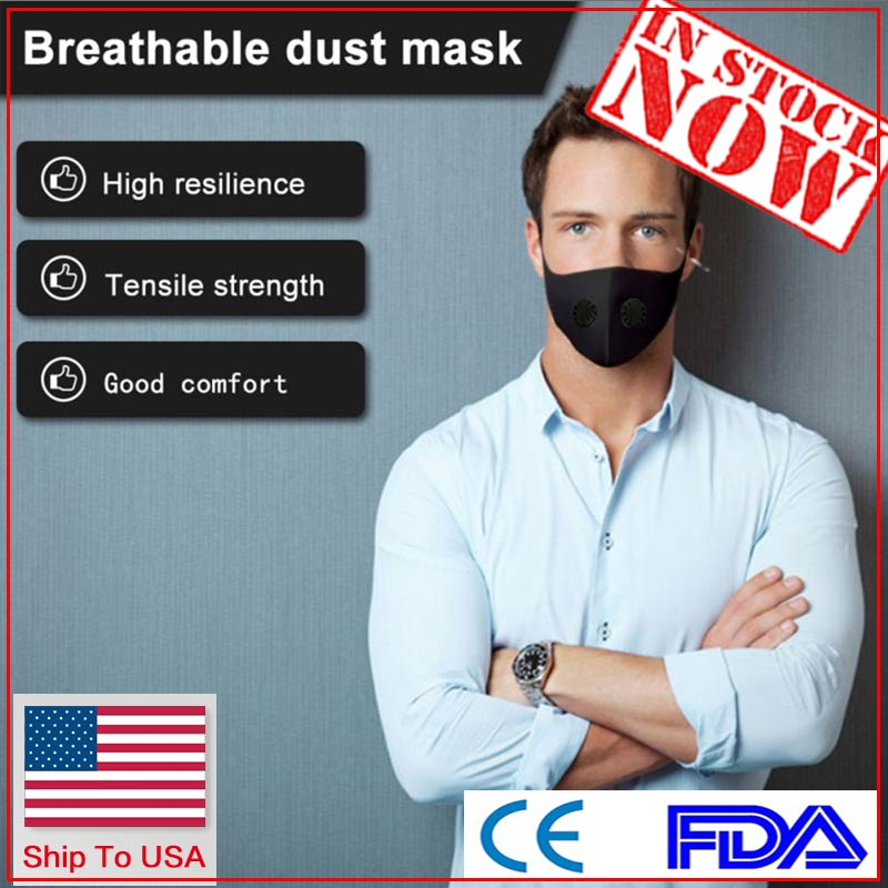 50Pcs DHL Ship To USA Anti-stof Veilig Ademend Mond Masker Wegwerp Kids Adult Ear Loop Gezicht Hypoallergeen Maskers Filter 9400