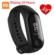 Original Xiaomi Mi Band 3 Smart Miband 3 Bracelet Wristband OLED Touchpad Instant Message Caller ID Heart Rate Monitor original xiaomi mi band 2 smart fitness bracelet watch wristband miband oled touchpad sleep monitor heart rate mi band2