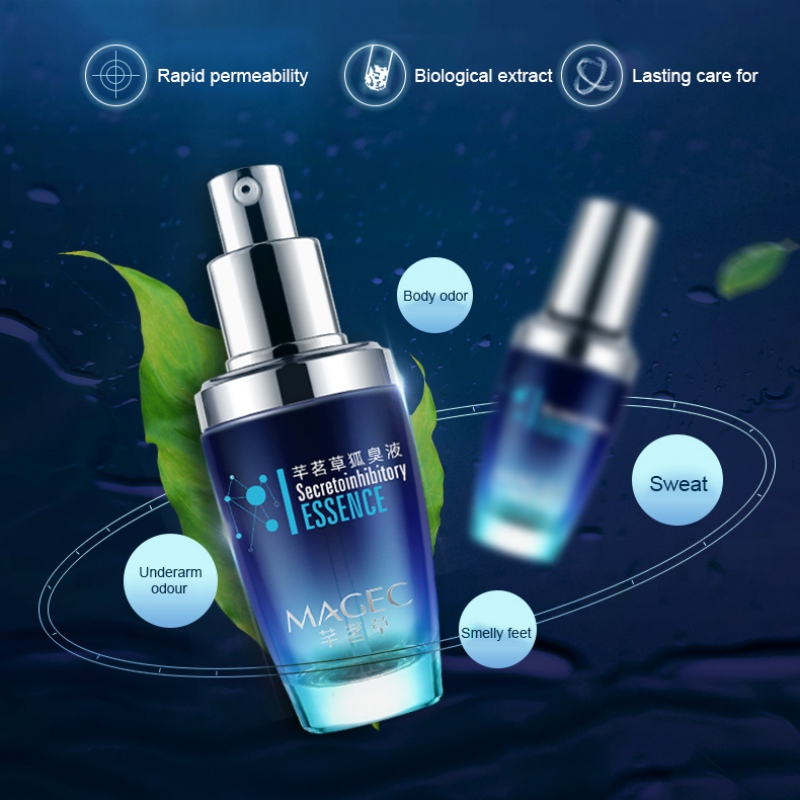 Underarm Hircismus Cleaner Antiperspirant Formula Deodorant Body Spray Remove Body Odor Hyperhidrosis Composition Effective E1