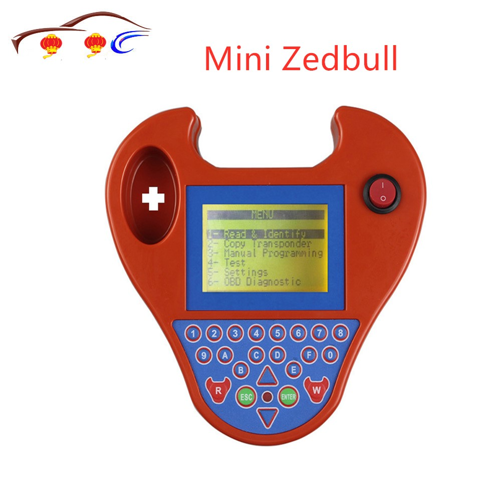 Newest V508 Super Mini Zedbull Smart Zed-Bull Key Transponder Programmer MINI ZED BULL Key Programmer
