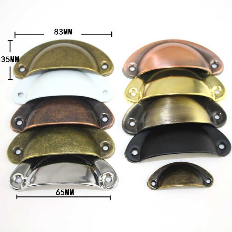 Szafka w stylu vintage gałki i uchwyty drzwi szafki szuflada szafki sprzęt meblowy antyczne mosiężna powłoka pochwyty
