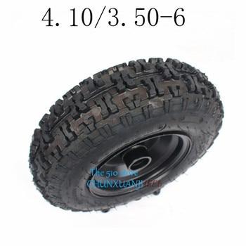 Высокоэффективные шины 4,10/3,50-6 с ступицей для электровелосипеда, тачка, скутера, мини-мотоцикла, квадроцикла