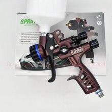 Nova pistola de pulverizador rp 1.3mm bocal de aço inoxidável 600ml hvlp pulverizador de carro pistola de ar ferramenta de pintura para pintura à base de água do carro