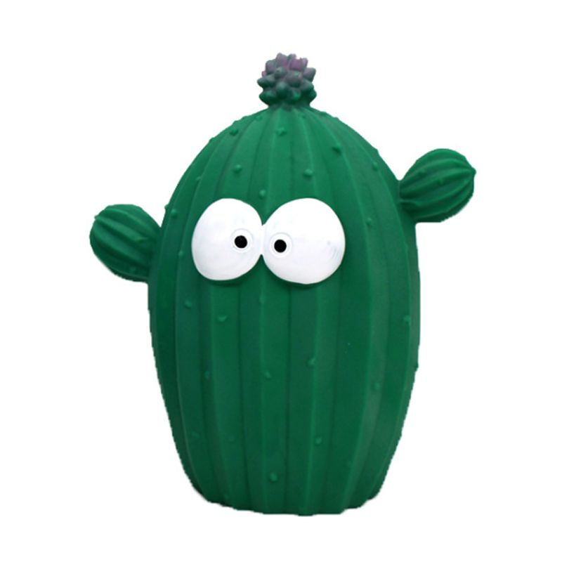 Cartoon Cactus Piggy Bank Resin Crafts Money Box Home Desktop Decor Ornaments For Children Kids