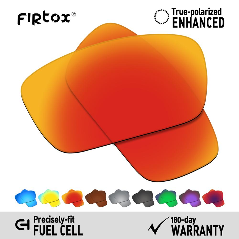 Firtox True UV400 Polarized Lenses Replacement for-Oakley Fuel cell OO9096 Sunglasses (Compatiable Lens Only) - Multiple Colors