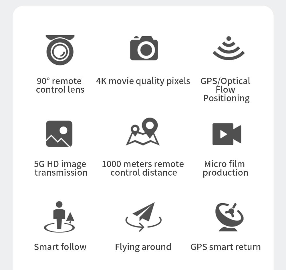 H34df896df4f14616a1375f1ee4c1ebabK - ZLL SG108 Pro GPS Drone With 5G Wifi FPV 4K HD Dual Camera Brushless RC Foldable Quadcopter 1000m Control Distance Dron VS KF102