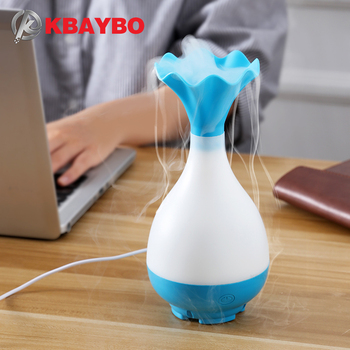 USB Air Humidifier Ultrasonic Aromatherapy Essential Oil Aroma Diffuser with LED Night Light Mist Purifier atomizer for Home multifunction 3 in 1 air humidifier essential oil diffuser with led light usb fan air purifier for home aromatherapy
