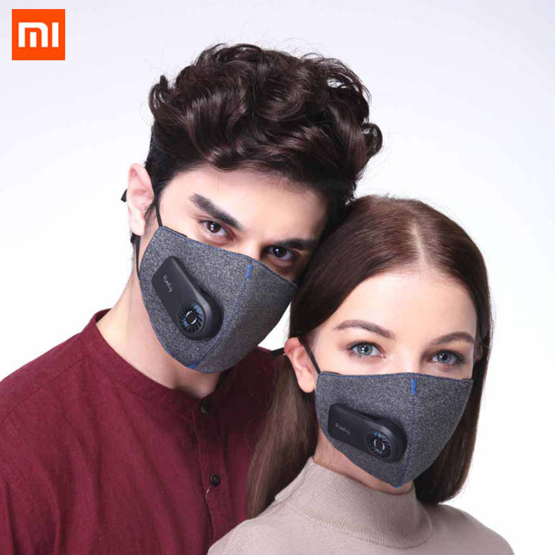 Xiaomi Mi Purely Electric Air Mouth Mask Face Anti-Pollution Dust Haze Active Air Supply Kuala Lump Leader Same Mask