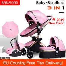Бесплатная доставка! Детская коляска babyfond 3 в 1 Европейский