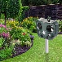 Dreamburgh Ultraschall Pest Repeller Outdoor Mole Repellent Solar Power Ultraschall Mole Snake Moskito Maus Steuer Garten Hof-in Abwehrmittel aus Heim und Garten bei