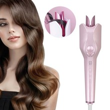 Automatic Curling Anti-scalding Ceramic Hair Curler Electric rapid 3 gear temperature Rotate Wand Styling Tool