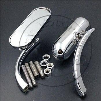 750 de la motocicleta para Honda rebelde sombra 600 750 VTX 1300, 1800 piezas de la motocicleta de carreras de espejos oval mini espejo retrovisor