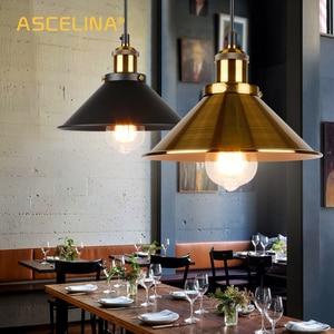 Image 1 - NEW Lndustrial Pendant Light Vintage Chandelier  Hanging Lamp Modern Pendant Ceiling Lamps LED Restaurant Living Room Decoration