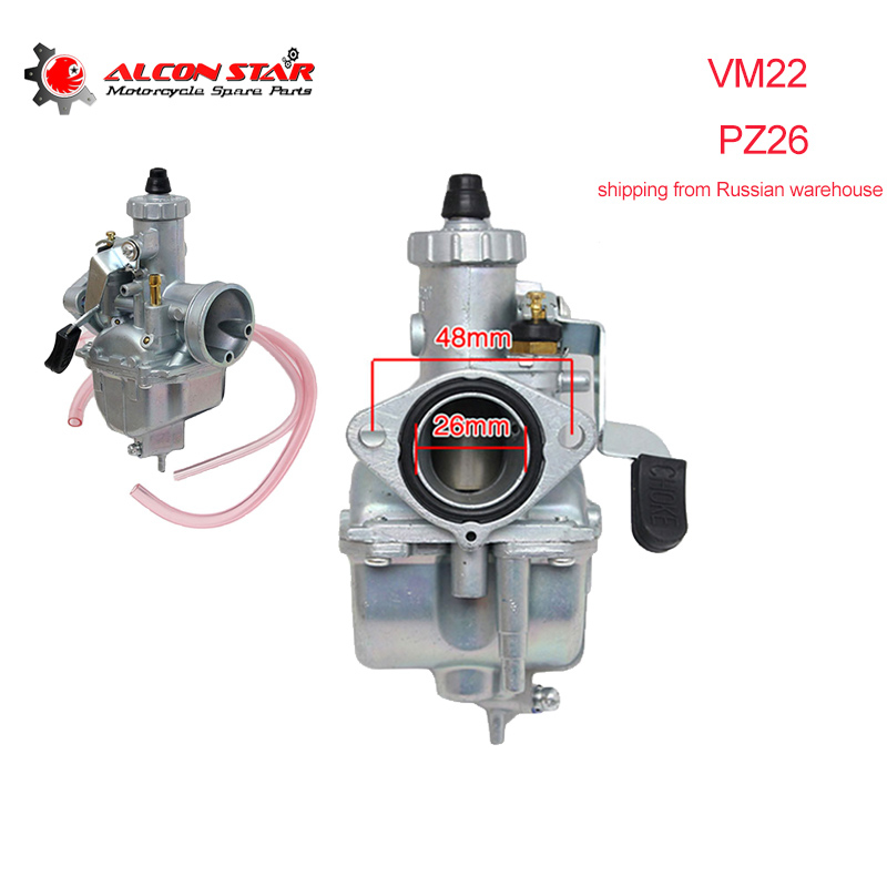 MIKUNI VM22 26mm Racing Carburetor Carb For Honda CRF50 XR50 110 125cc Dirt Bike