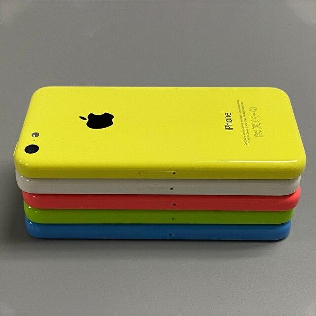 Used iPhone 5c Original Unlocked Apple iPhone 5C IOS GPS WIFI Dual Core 4.0'' Display 8GB/16GB/32GB iphone5c Cellphone Free Gift 3