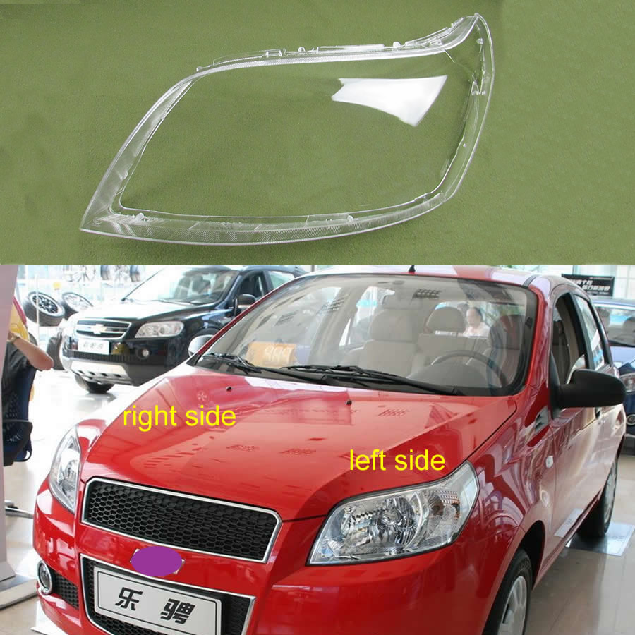 Transparent Lampshade Lamp Shade Front Headlight Shell Headlamp Cover Glass For Chevrolet  Aveo 2009 2010 2011