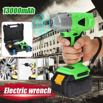 Drillpro Electric Wrench 13000mAh 280Nm Multifunctional Battery Rechargeable Cordless Electric Impact Wrench Woodworking