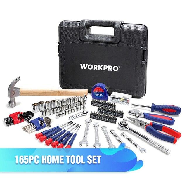 Zestaw 165 narzędzi WORKPRO z wysyłką z EU za $25.28 / ~96zł