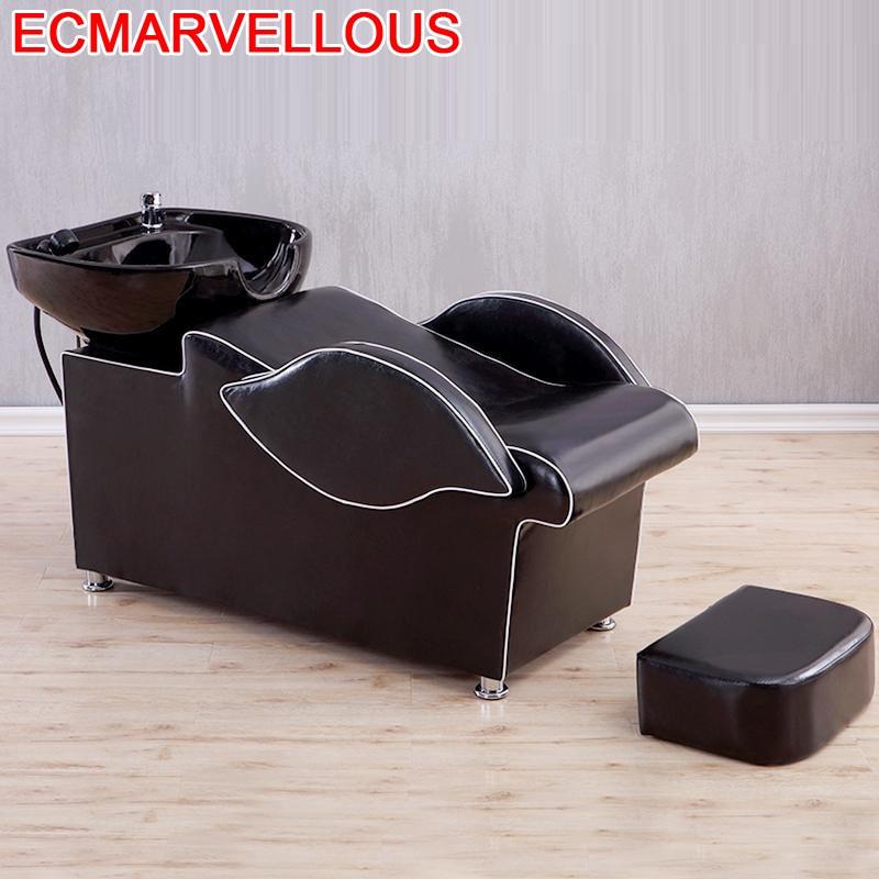 Makeup Beauty Hairdresser De Cabeleireiro Bed Lavacabezas Silla Peluqueria Cadeira Maquiagem Hair Furniture Salon Shampoo Chair