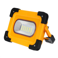 200W Portable Spotlight 2000lm Super Bright Led Work Light Rechargeable for Outdoor Camping Lampe Led Flashlight