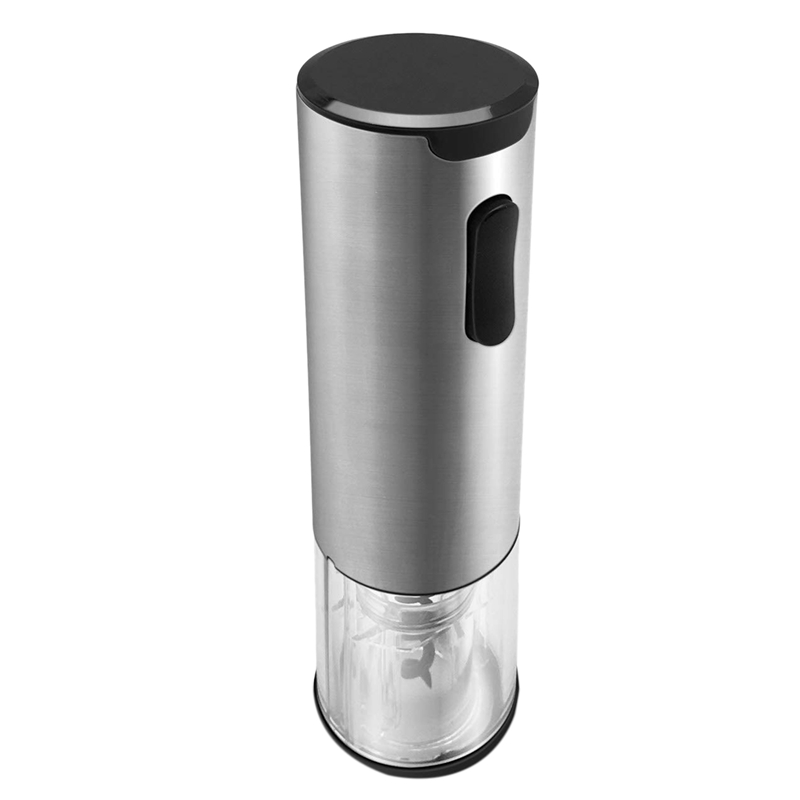 TOP!-Electric Wine Opener with Battery Indicator, Rechargeable Cordless Automatic Corkscrew Bottle