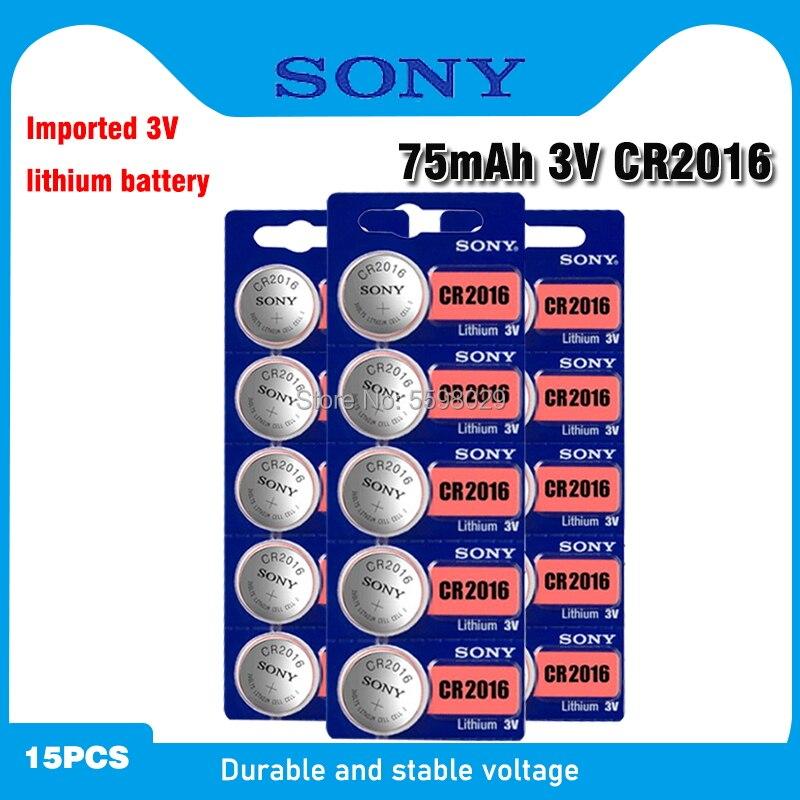 SONY cr2016 литиевая батарея 3 в, 15 шт., литий ионные кнопочные батареи, часовые батарейки, cr 2016 DL2016 ECR2016 BR2016 для часов|Часовые батарейки|   | АлиЭкспресс