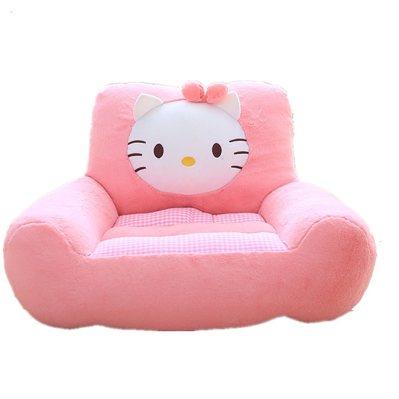 Cartoon Tuba Children Backrest Baby Sofa Chair Kindergarten One Seat Kids Sofa Washable Tatami Bean Bag Zitzak Child Bed
