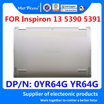 Laptop NEW original Bottom Base Bottom Cover Assembly Silver D case for Dell Inspiron 13 5390 5391 0YR64G YR64G 460.0GW04.0001