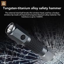 Linterna LED de gran alcance LEAO, martillo de seguridad de coche, luz Flash de buceo impermeable para una mayor seguridad