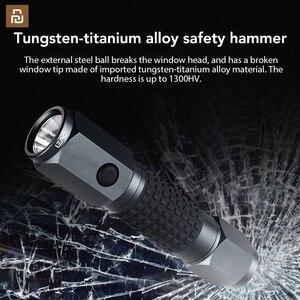 Image 1 - Linterna LED de gran alcance LEAO, martillo de seguridad de coche, luz Flash de buceo impermeable para una mayor seguridad