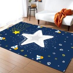 Rysunkowa ilustracja wzór dywan do składania domu dekoracyjne dzieci podłoga w pomieszczeniu dywan miękka flanelowa dla dzieci mata dla niemowlęcia dywan do salonu