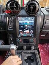 Autoradio Android 2004, 6 go/2009 go, Navigation GPS, lecteur multimédia, magnétophone, unité centrale pour voiture Hummer H2 (9.0 – 128), type Tesla