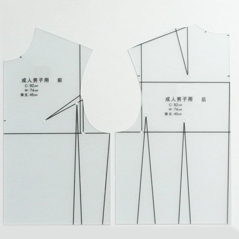 1:3 Transparent Template Ruler Women Design Clothing Drafting Prototype Tool DIY