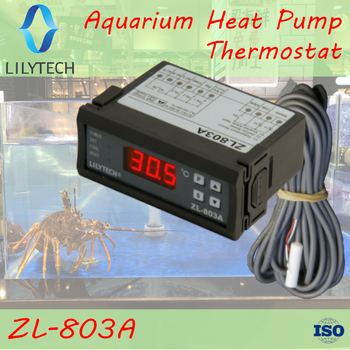 цена на ZL-803A, Aquarium Fish Pool Tank Seafood machine temperature controller,thermostat,Water chiller temperature controller,Lilytech