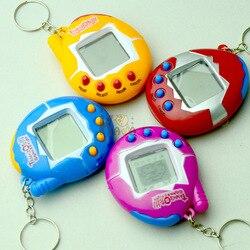 1 Uds. Nuevo popular Tamagochi juguete electrónico mascotas Virtual Retro ciber divertido vaso Ver juguetes para niños máquina de juegos portátil