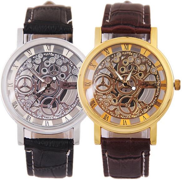 Hesiod Women Rhinestone Watches Luxury Gear Watch Women Back To School Quartz Wristwatches