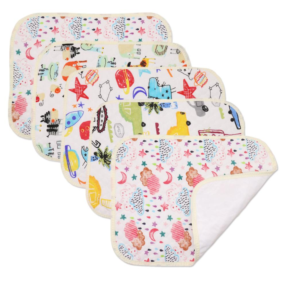 Baby Diaper Changing Mat Infants Mattress Washable Kids Waterproof Travel Pad Floor Mats Cover Newborn Nappy Urine Pad 30*40CM