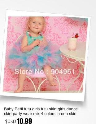 Цветная очаровательная юбка до пачка для маленькой девочки балетная юбка юбка до американка воздушная юбка до пачка микс цветов в одной юбке MOQ 1 радужная юбка до пачка