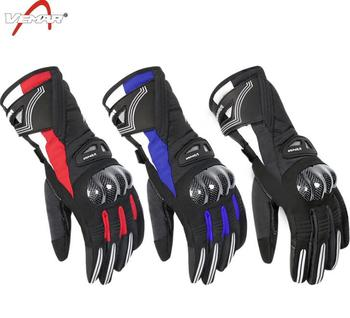 VEMAR Winter Motorcycle Gloves Fleece Windproof Guantes Moto Luvas Motorbike Non-slip Motocross Waterproof Gloves Keep Warm цена 2017