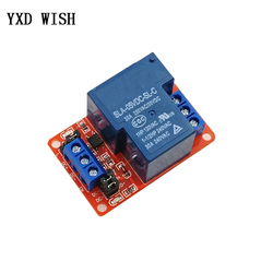 1 канальный релейный модуль высокой мощности, 5 В, 12 В, 24 В, 30 А с оптроном, Тригер уровня H/L для Arduino Mega AVR PIC DSP ARM реле