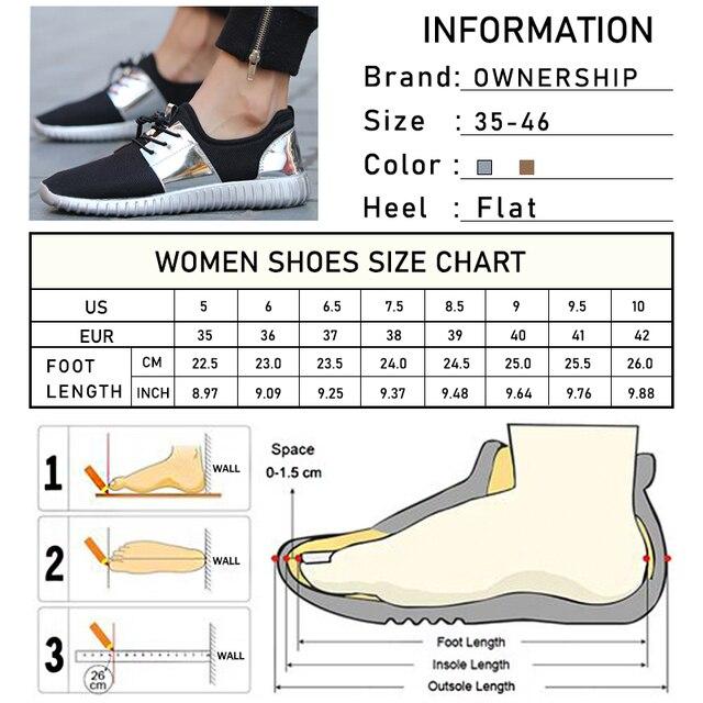 2020 mujer Zapatillas Zapatos casuales para mujeres vulcanizadas mujeres transpirables planos Unisex parejas zapatos plataforma talla grande 6