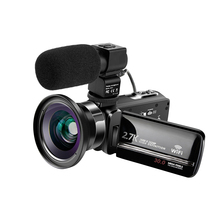 KOMERY Video Camcorders WIFI Streaming Vlogging For Youbute