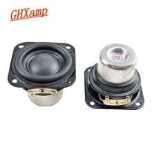 GHXAMP 1.5 بوصة 40 مللي متر كامل المدى المتكلم 4OHM 8 واط النيوديميوم مكبر الصوت 20 الأساسية الألومنيوم أنبوب ملف صوتي للصوت المحمولة 2 قطعة