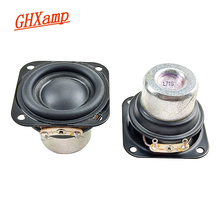 GHXAMP 1.5 Inch 40mm Full Range Speaker 4OHM 8W Neodymium Loudspeaker 20 Core Aluminum Tube Voice Coil For Portable Audio 2pcs