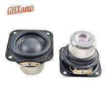 GHXAMP altavoz de neodimio portátil de 1,5 pulgadas, 40mm, 4ohm, 8W, 20 núcleos, tubo de aluminio, bobina de voz, 2 uds.