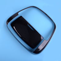 DWCX Carbon Fiber Texture Front Reading Light Lamp Cover Trim Fit For Jeep Grand Cherokee 2011 2012 2019 Interior Accessories