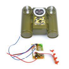 New 2.4G 6CH Remote Control HUANQI Radio Module Unit Board for DIY Car Tank Ship Spare Parts 634F