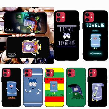 HPCHCJHM New towelie episode Anti-dirty DIY Luxury Phone Case for iPhone 11 pro XS MAX 8 7 6 6S Plus X 5S SE XR case image