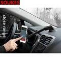 Вращающийся держатель для мобильного телефона с gps навигацией для Chevrolet Cruze Aveo Opel Insignia Ssangyong kyron rexton Honda