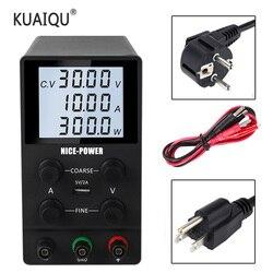 USB регулируемый лабораторный источник питания постоянного тока 30 в 10 А лабораторный Настольный Регулируемый 60 в 5 А регулятор напряжения ст...